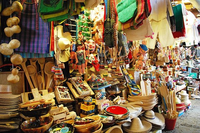 Les objets souvenirs ramener du mexique for Oaxaca mexico arts and crafts