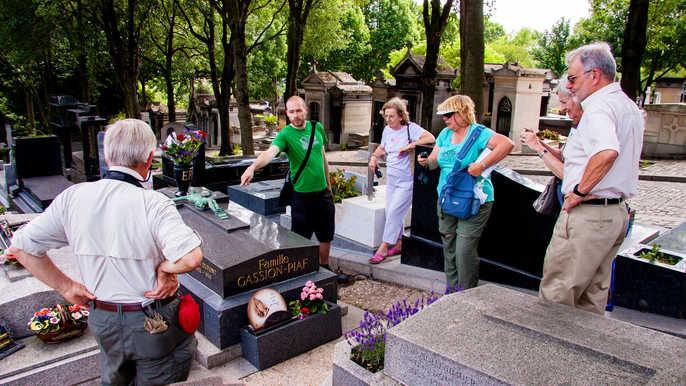 visite cimetière Père lachaise