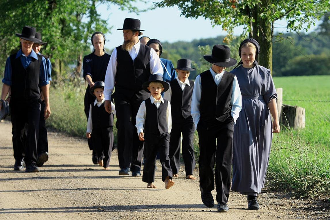 Tour du monde en stop. Article. Journée en communauté Amish